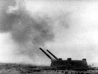 Battery opened fire, 1941