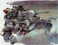 World War II Sketches by Hans Liska