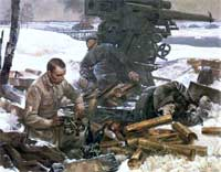Soviet War Paintings