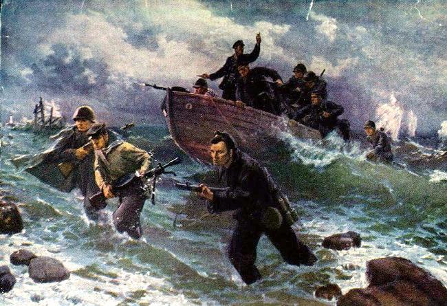 В. Puzirkov. Черное море морская пехота