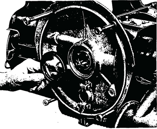 Figure 21—Removing Crankcase Oil Seal