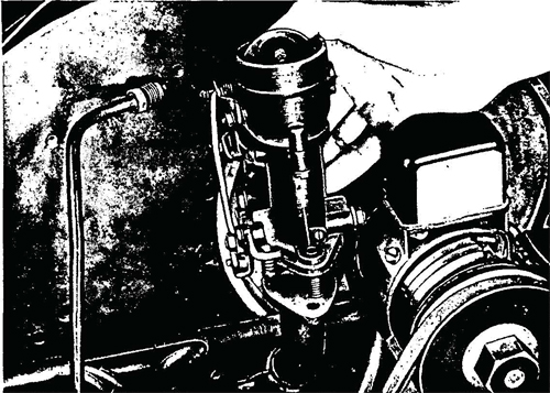 Figure 22—Carburetor Removal