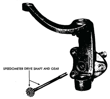 Figure 47—Speedometer Drive Gear 110