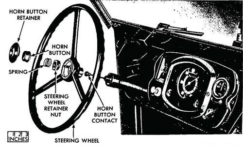 Figure 57—Steering Wheel Removed