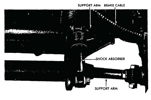 Figure 61—Front Shock Absorber Installed