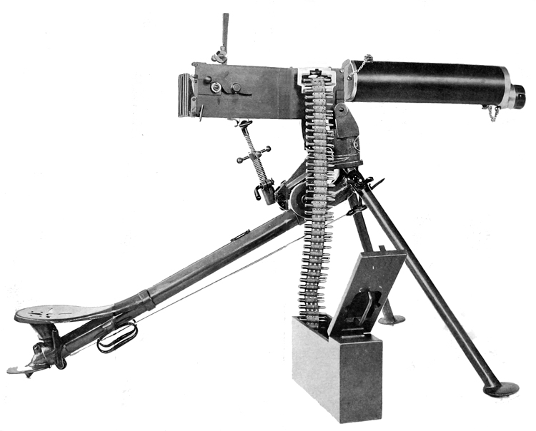 the with the machine gun