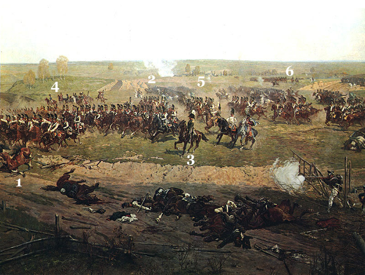 FRAME VIII. Russian Cavalry Counter-attacks