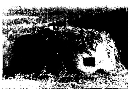 Figure 15.—Camouflaged six-port turret, with periscope.