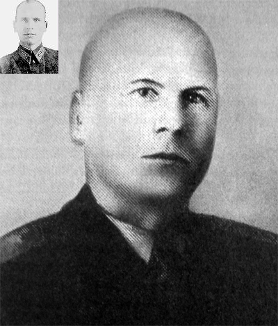Chief Executioner. Major-General Piotr Soprunenko in 1960 and 1940(insert)