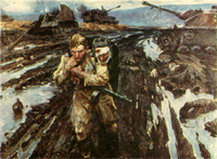 Soviet War Paintings. Part III