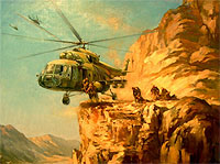 Paintings of Afghanistan War 1979-1989