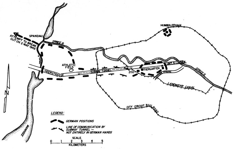 THE SITUATION ON 1 MAY 1945