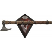 Vikings Axe Of Ragnar Limited Battle Axe and Plaque