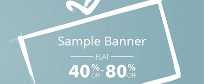 sample banner 2